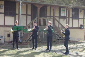 Hornbläserquartett der Stadt. Musikschule Potsdam