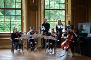 Vivaldis La Caccia Musiker der Voltaireschule Potsdam