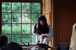 Christian Schramm als Jacob Paul von Gundling
