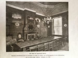 (Ansicht des wohnlich gestalteten Saals zur Kaiserzeit)