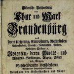 Historische Beschreibung des Jagdschlosses Stern von 1751