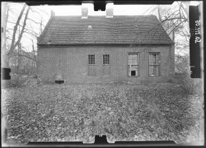 Jagdschloss Stern Nordseite 1980