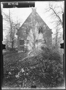 Jagdschloss Stern Rückseite 1980