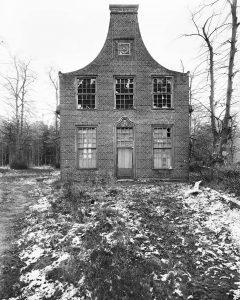 Jagdschloss Stern Giebelseite 1980