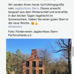 Neu: Das Jagdschloss Stern auf Facebook